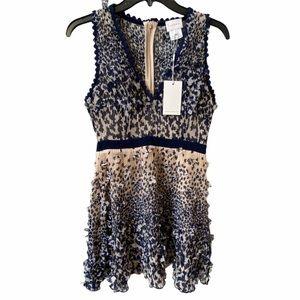 Foxiedox Ombré Fit & Flare Mini Dress